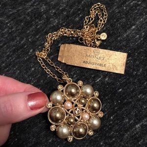 """NWT 18"""" Monet Pendant Necklace"""